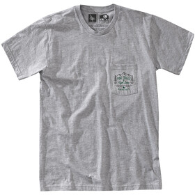 Hippy Tree Mendocino T-paita Miehet, heather grey